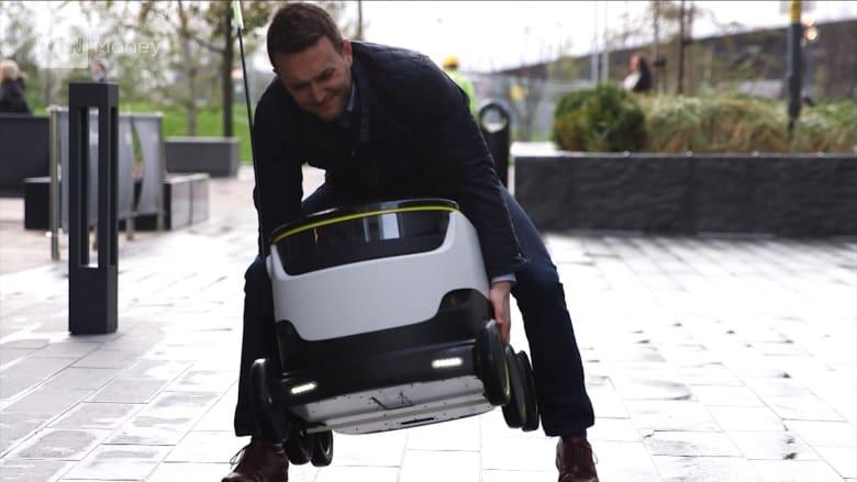 روبوت يوصل لك مشترياتك بأرخص الأسعار.. لكن هل يمكن سرقته؟