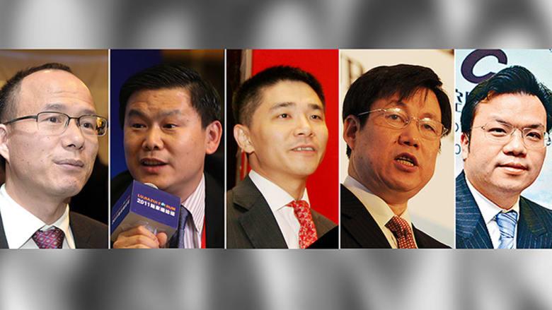 تعرفوا على خمسة من أبرز رجال أعمال الصين المفقودين