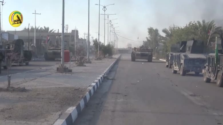 شاهد.. القوات العراقية تتقدم في شوارع مدينة الرمادي
