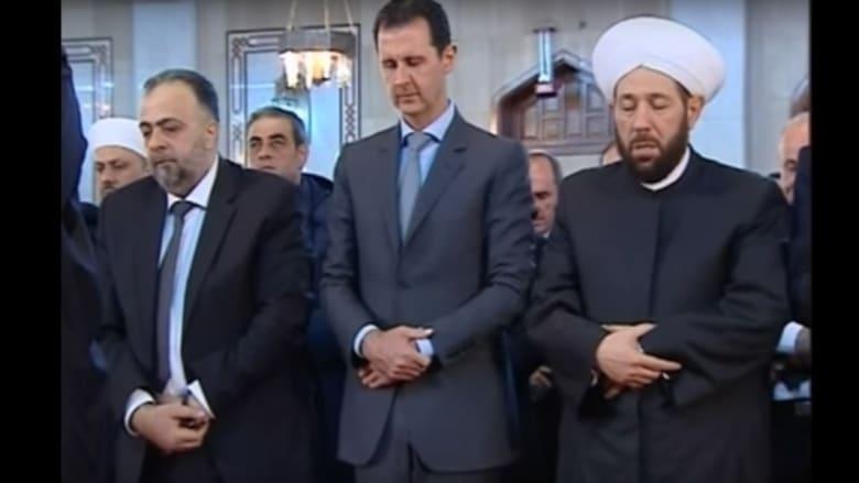 للمرة الثانية في أسبوع.. ظهور علني لبشار الأسد في ذكرى المولد النبوي بدمشق