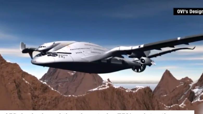بالفيديو: هل سنحلق بهذه الطائرة قريباً؟