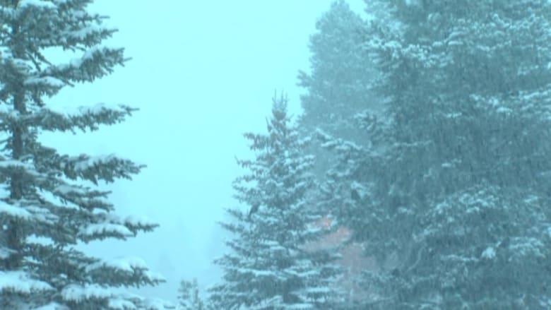 بالفيديو: ثلوج كثيفة في عيد الميلاد بولاية نيفادا الأمريكية