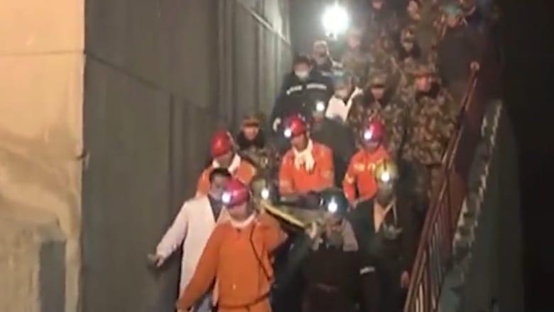 بالفيديو: انهيار منجم للجبس في الصين والسلطات تسابق الزمن لإنقاذ العالقين تحت الأرض