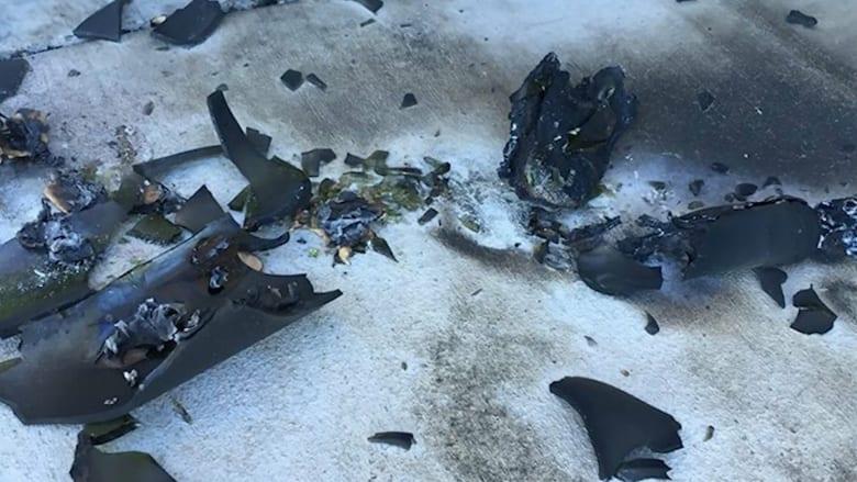 """بالفيديو: قنبلة مولوتوف على مسجد في كاليفورنيا والمسلمون يخشون """"جرائم الكراهية"""""""