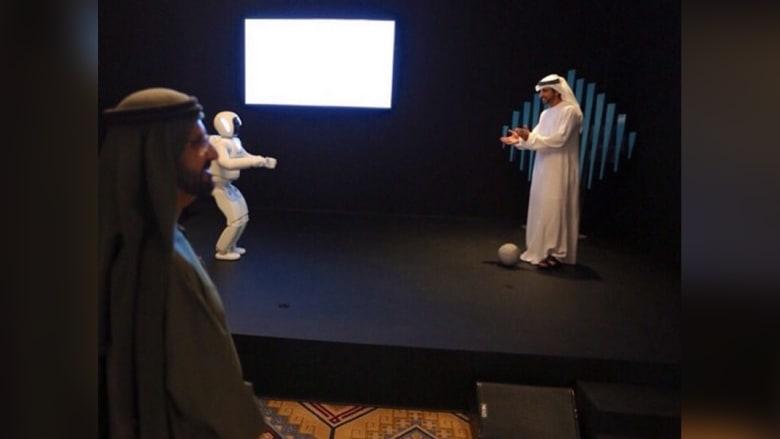 الشيخ محمد بن راشد يفتتح متحف المستقبل ضمن #القمة_الحكومية في دبي
