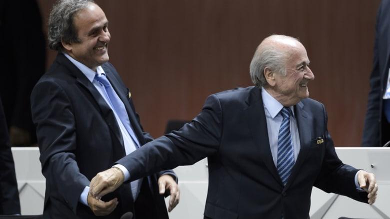 بلاتيني يعلن انسحابه من الترشح لرئاسة الفيفا بعد قرار لجنة القيم بإيقافه 8 سنوات