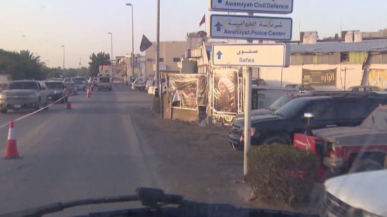 بالفيديو: جولة حصرية لـCNN داخل عربة مدرعة في مدينة العوامية مسقط رأس النمر