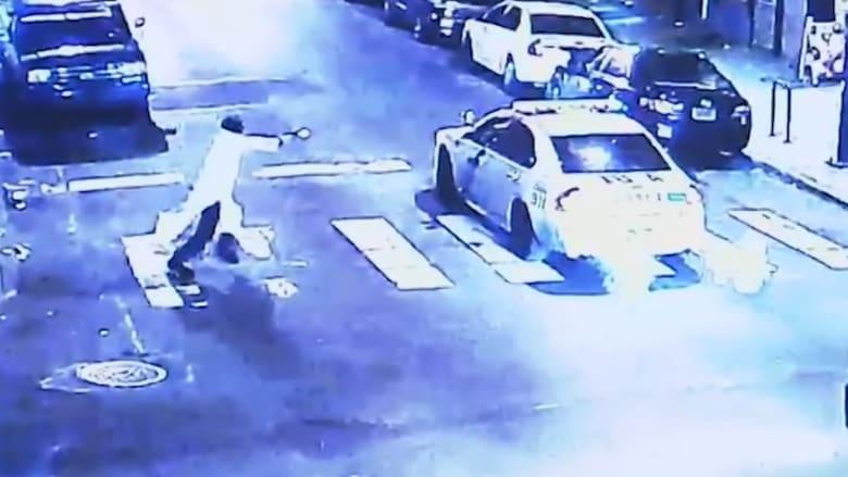 """بالفيديو.. الشرطة الأمريكية: مطلق النار على شرطي فيلادلفيا مؤيد لـ""""داعش"""""""