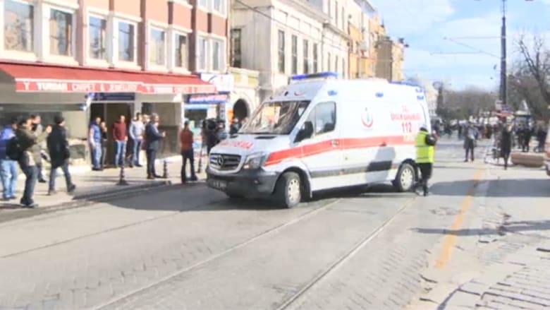 """بالفيديو.. السلطات التركية: 9 قتلى و15 مصابا في انفجار ساحة """"السلطان أحمد"""" في اسطنبول"""
