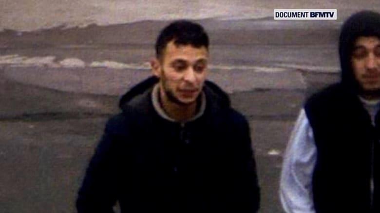 شاهد.. اللقطات الأولى للهارب صلاح عبدالسلام بعد هجمات باريس