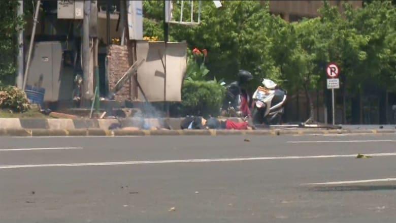 إندونيسيا: شاهد حالة الشوارع خلال تفجيرات جاكرتا