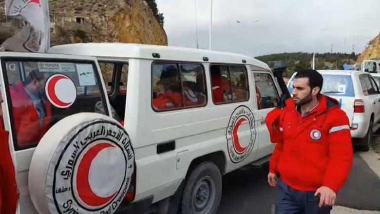 مصدر أممي: الشحنة الثانية من المساعدات ستصل مضايا قريباً