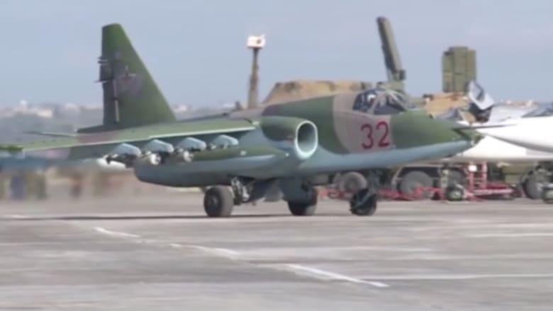 بالفيديو: لأول مرة غارات جوية مشتركة بين روسيا وسوريا