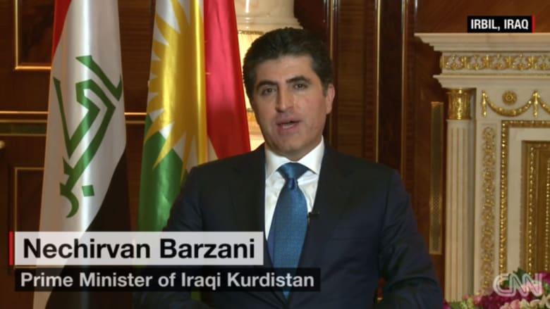 رئيس وزراء إقليم كردستان لـCNN: جيش العراق غير مستعد لدخول الموصل قبل 6 أشهر من الآن