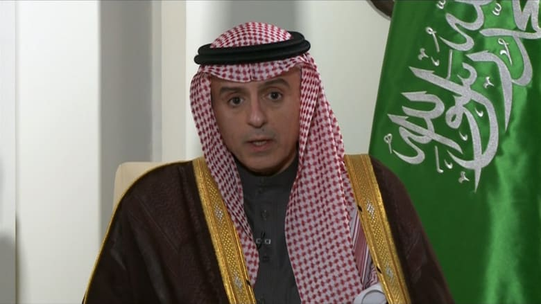 عادل الجبير لـCNN: السعودية لن تساوم على أمنها وإيمانها.. إيران رعت قادة القاعدة ولا تمانع باستخدام الإرهاب