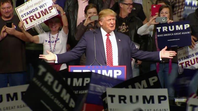 ترامب لـCNN: أمريكا بحاجة لقيادة فاعلة وتيد كروز رجل مقرف