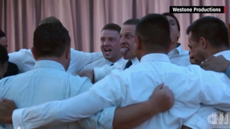 """شاهد.. رقصة """"الهاكا"""" الحربية بحفل زفاف في نيوزلندا تنتشر بشكل هستيري على الإنترنت"""