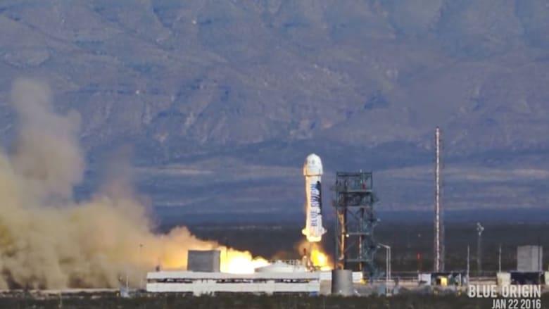 صاروخ قابل لإعادة الاستخدام ينطلق مجدداً إلى الفضاء