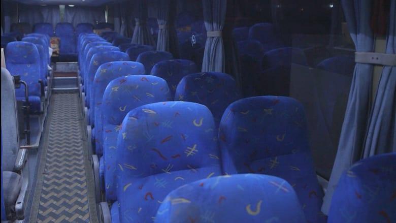 """بالفيديو: """"رحلة الذهاب إلى الموت"""".. تذكرة حافلة من بيروت إلى الرقة"""