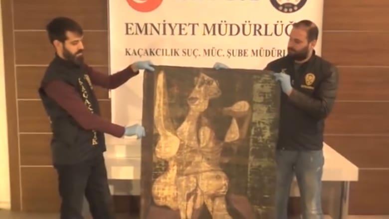 الشرطة التركية تستعيد لوحة مسروقة لبيكاسو تعود لعام 1940