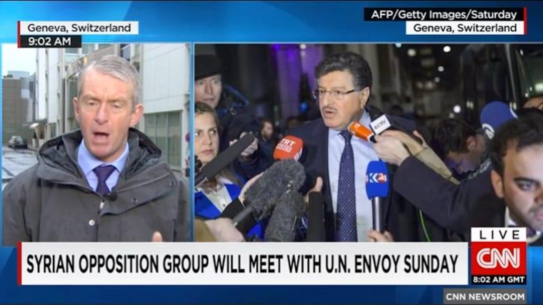 بالفيديو: المعارضة السورية تطالب بتلبية شروطها قبل بدء المفاوضات