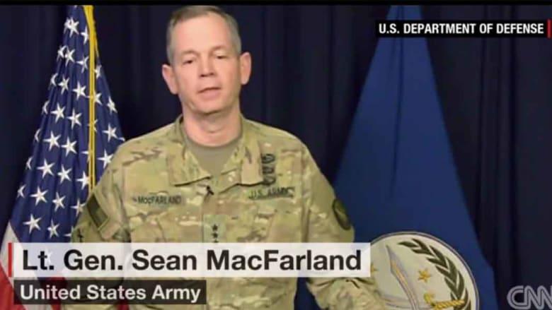 """جنرال أمريكي يستبعد فكرة تنفيذ """"القصف البساطي"""" ضد داعش: ملتزمون بقوانين الصراع المسلح عكس ما تتهم به روسيا في سوريا"""