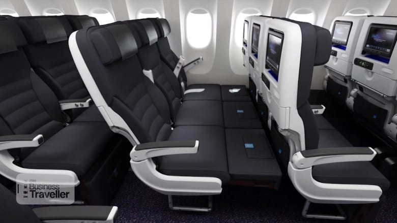 """""""أريكة السماء"""" تسمح لك بالاستلقاء والنوم في مقصورة الفئة الإقتصادية بالطائرة"""