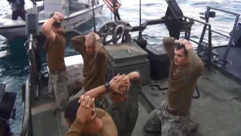 """مصدر بالبنتاغون لـCNN: البحارة الأمريكيون تعرضوا لـ""""المساءلة المنظمة"""" من قبل إيران عند احتجازهم.. ونحقق باحتمال التلاعب بأنظمة GPS"""