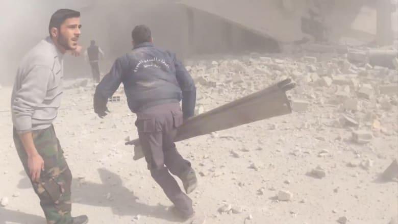 بالفيديو من سوريا: القصف يخترق اتفاق التهدئة والسماح بضرب داعش والنصرة يفتح الباب لروسيا