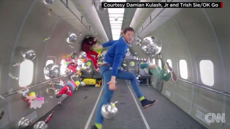 فيديو مضحك لأعضاء فرقة Ok Go يفقدون أوزانهم كلياً في عملهم الأخير