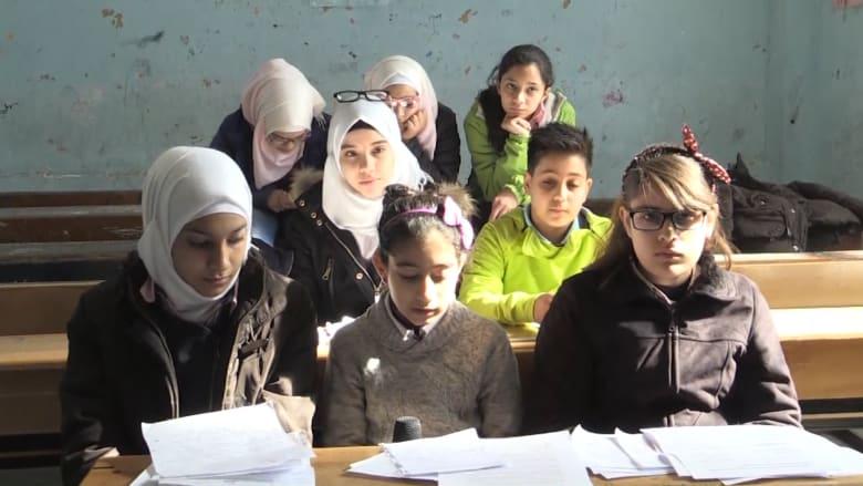 بالفيديو: طلاب في دمشق: نحتاج الحب.. وطلاب لندن يردون: نحبكم