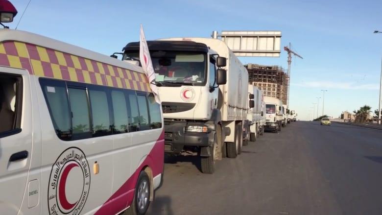 عدسة CNN في سوريا: استعداد قوافل المساعدات الأممية للتوّجه إلى مناطق محاصرة