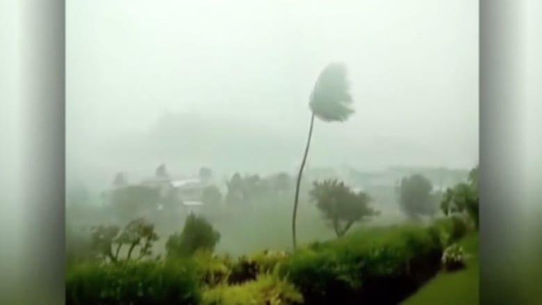 بالفيديو: الرعب يسيطر على جزر فيجي مع وصول أقوى إعصار في تاريخها