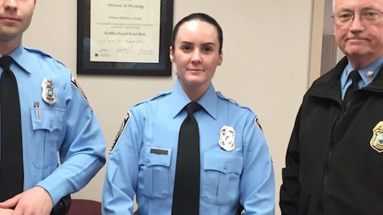 بالفيديو: مقتل شرطية أمريكية بأول يوم لها في الخدمة