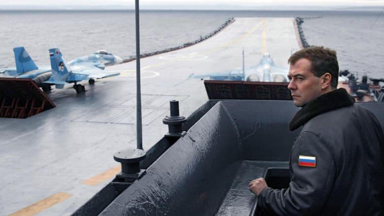"""مصدر: روسيا سترسل حاملة الطائرات """"الأميرال كوزنيتسوف"""" للبحر المتوسط"""
