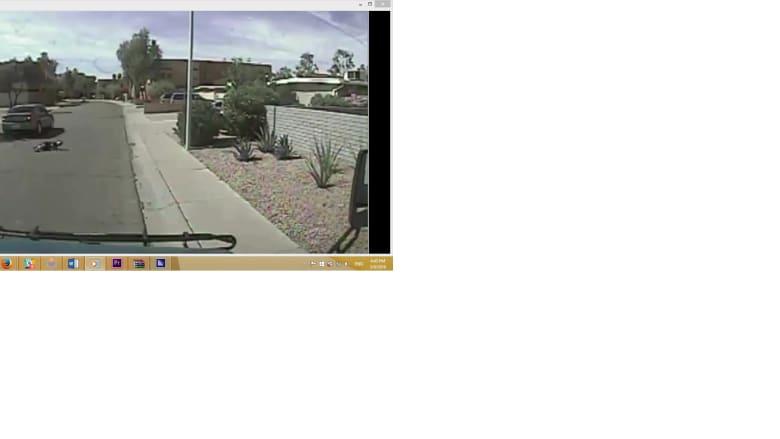 فيديو التقطته كاميرا مراقبة.. لحظة دهس طفل يعبر الطريق والسائق يتابع سيره