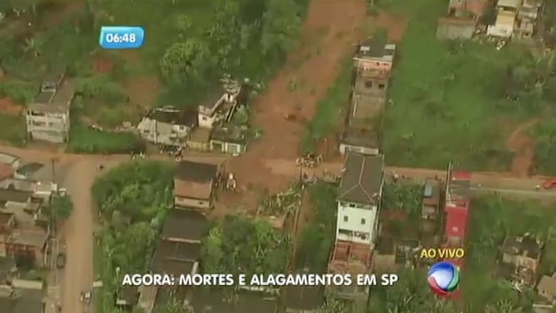بالفيديو: مقتل 15 شخصا في انهيارات طينية نتيجة الأمطار في البرازيل