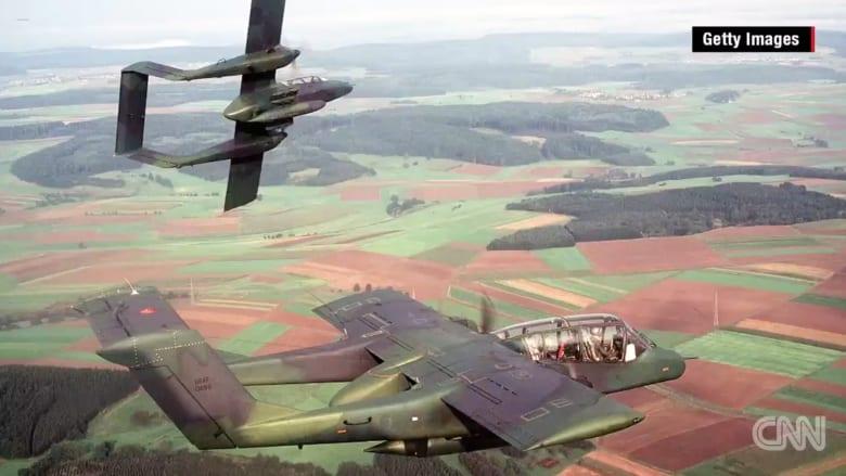 شاهد.. مقاتلة أمريكية شاركت في حرب فيتنام تخوض القتال ضد داعش