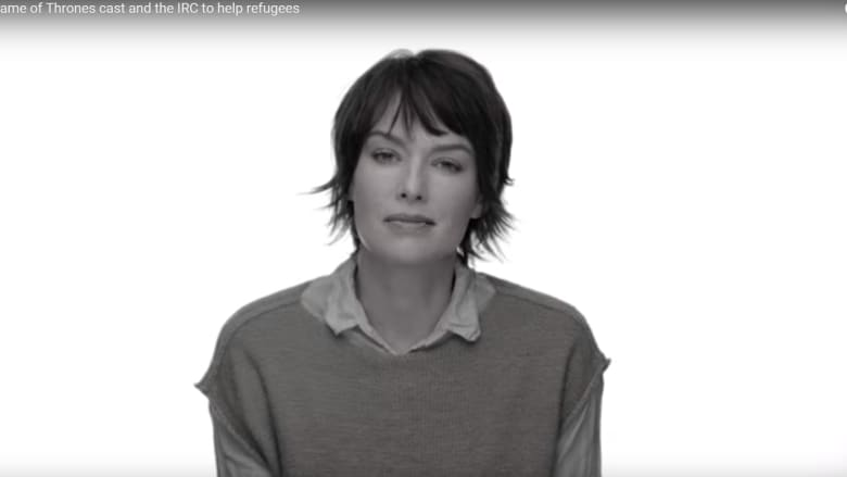 """بالفيديو.. ممثلو """"Game of Thrones"""": انهض وقف معنا لمساعدة اللاجئين في سوريا والعراق ولبنان والأردن"""