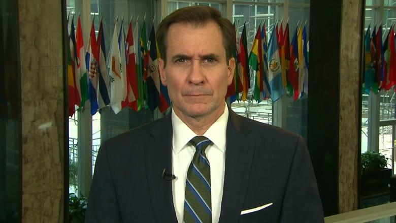 """جون كيربي لـCNN: """"نحن نعرف أن اتهامات روسيا بقتل المدنيين ليست شائعات دعائية.. إنما هي الحقيقة"""""""