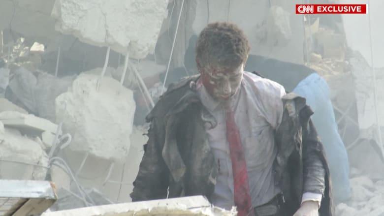 حصريا عبر عدسة CNN من إدلب.. حيث كل الأهداف المدنية بمناطق المعارضة مشرّعة للدمار