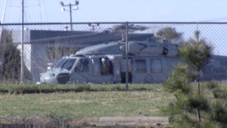"""بالفيديو: إصابة 8 من عناصر البحرية الأمريكية أثناء هبوط طائرة على حاملة الطائرات """"أيزنهاور"""""""