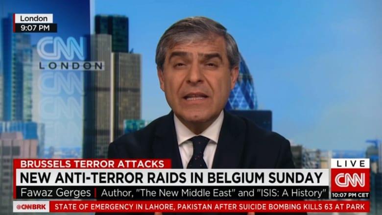 فواز جرجس عن حملة مداهمات شبكة داعش بأوروبا: قد نكون أمام بداية النهاية للإرهاب