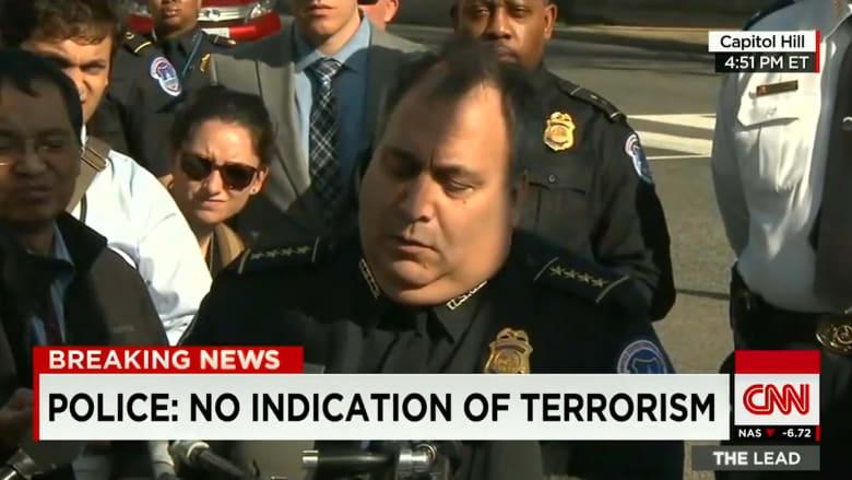 رئيس شرطة الكونغرس الأمريكي: نعتقد أن حادثة إطلاق النار فعل شخص تردد على موقع الكونغرس مُسبقاً