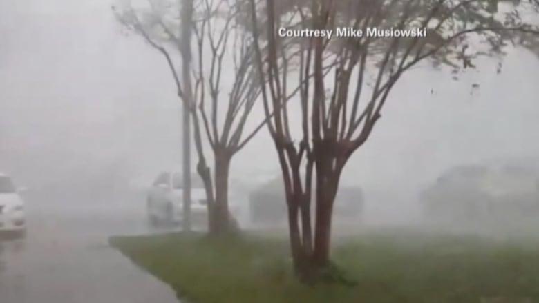 بالفيديو: أعاصير وفيضانات في ولاية جورجيا الأمريكية