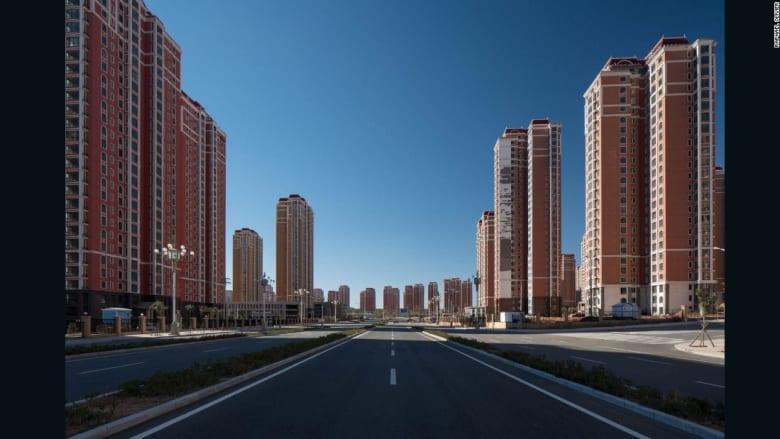 """الق نظرة داخل """"مدينة الأشباح"""" في الصين"""