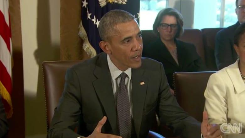"""بالفيديو.. أوباما: """"داعش مازال أولويتي العليا"""""""