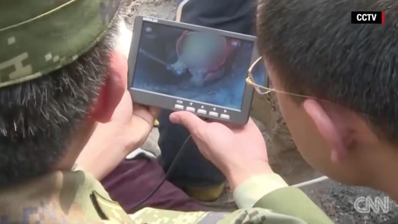 بالفيديو: عملية إنقاذ طفل سقط في بئر بعمق 90 مترا في الصين
