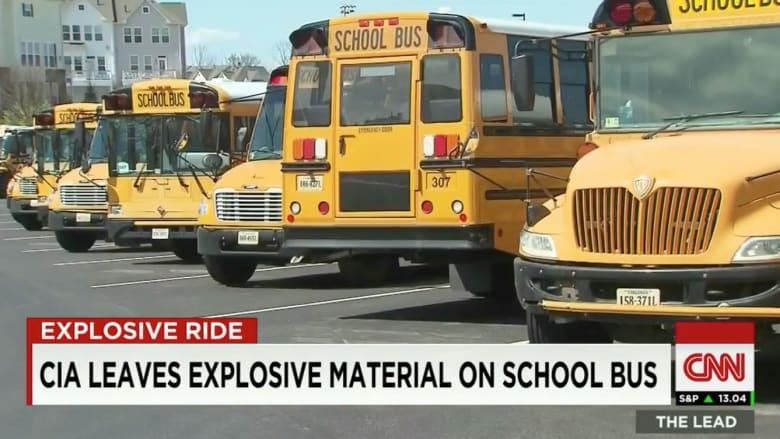 بالفيديو: CIA تترك عن طريق الخطأ مواد متفجرة في محرك حافلة مدرسية