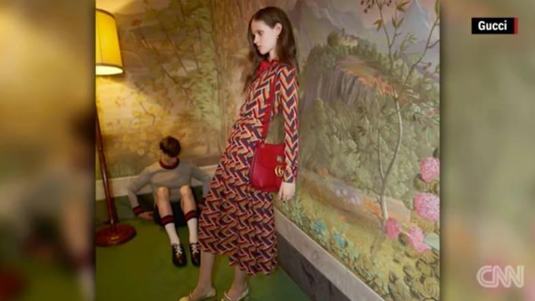 بريطانيا تحظر إعلاناً لغوتشي بسبب عارضة أزياء نحيفة